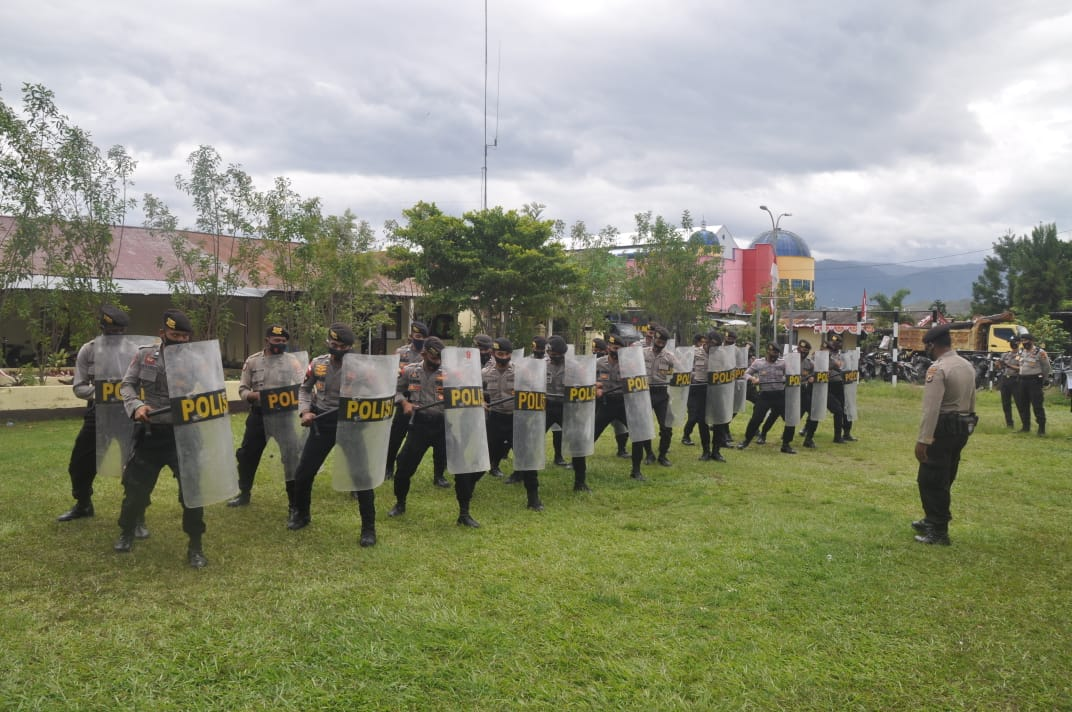 Satuan Samapta Polres Jayawijaya Ikuti Lomba Fungsi ...